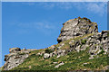 SS7049 : Castle Rock by Ian Capper