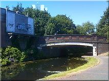 SJ9400 : Rookery Street Bridge by Gordon Griffiths