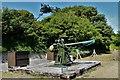 TR3241 : Dover Castle: Original 3 inch, 20cwt dedicated anti aircraft gun by Michael Garlick