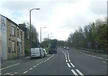 SE0724 : A58 Rochdale Road at the closed Wellington Inn by Colin Pyle