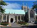 TG5208 : Great Yarmouth Minster by Mat Fascione
