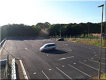 SE2436 : Kirkstall Forge development - private car park by Stephen Craven