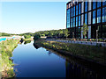 SE2436 : Kirkstall Forge development - river and offices by Stephen Craven