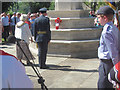 SP9211 : The Re-dedication of Tring War Memorial (2) The Wreath by Chris Reynolds