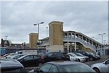 TR1458 : Footbridge, Canterbury West Station by N Chadwick