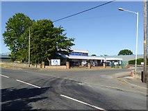 NZ1525 : Factory on Copeland Lane, Evenwood by Oliver Dixon