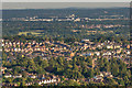 TQ2649 : Chart Lane from Reigate Hill by Ian Capper