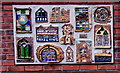 SJ4912 : Mural on the wall of Shropshire Archives, Shrewsbury by Jaggery