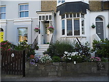 TR3968 : House on Nelson Place, Broadstairs by David Howard