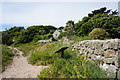 SV9110 : Coastal path towards Peninnis Head by Ian S