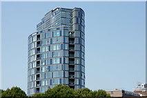 TQ3266 : Croydon High-rise by Peter Trimming