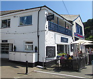 SX2553 : The Plough On The Quay, East Looe by Jaggery
