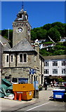 SX2553 : Grade II listed Guildhall, East Looe by Jaggery