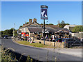 SJ9592 : Werneth Low Road, The Hare and Hounds Inn by David Dixon