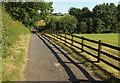 SE2850 : Drive from Alder Carr House Farm by Derek Harper
