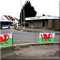 ST2894 : Here be dragons, Henllys Way, Cwmbran by Jaggery