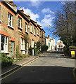 TQ3370 : Top of Haynes Lane, Upper Norwood, south London by Robin Stott