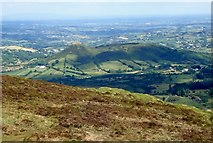 J0125 : Sugarloaf Hill and Sturgan Mountain from the northern flank of Slieve Gullion by Eric Jones