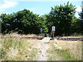 SD4665 : 'Cross the single railway line' by Christine Johnstone