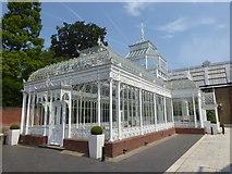 TQ3473 : The Victorian Conservatory at Horniman Gardens by Marathon
