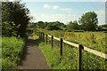 SU1130 : Path by Lower Road by Derek Harper
