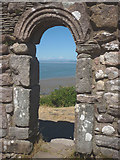 SD4061 : The doorway of St Patrick's Chapel, Heysham by Karl and Ali