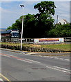 SN3859 : Ceredigion Lifeboat Campaign banner on a New Quay corner by Jaggery