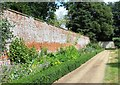 TF6306 : Inside the walled garden at Stow Hall Park, Norfolk by Richard Humphrey