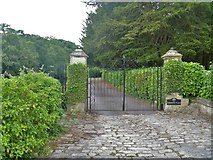 ST8260 : Gates to former vicarage by Michael Dibb