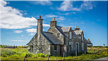 NB5263 : Derelict house at Habost by Peter Moore