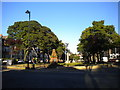 NZ3669 : War memorial and park, Tynemouth by Richard Vince