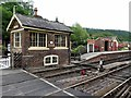 SE8191 : Levisham Railway Station by Andrew Curtis
