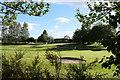 NS9768 : Clubhouse at Bathgate Golf Club by Bill Harrison