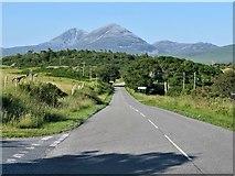 NR4268 : Heading towards Port Askaig along the A846, Islay by G Laird