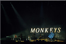 NS5964 : Arctic Monkeys on stage at TRNSMT, Glasgow Green by Mike Pennington