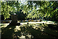 SE4807 : Graveyard at All Saint's Church, Hooton Pagnell by Ian S