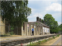 SK1373 : Monsal Trail: station buildings at Miller's Dale by Gareth James