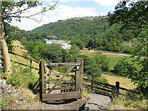SK1772 : Stile near Cressbrook Mill by Gareth James