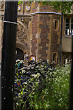 TL4458 : Bicycles outside Great Gate, Trinity College, Cambridge by Christopher Hilton