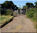 SO4107 : Entrance to Raglan Waste Water Treatment Works by Jaggery