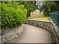 NU1912 : Path to Bondgate Without, Alnwick by Richard Vince