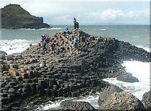 C9444 : Rocky isle at Giant's Causeway by Humphrey Bolton
