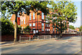 SD8402 : Crumpsall Lane Primary School by David Dixon