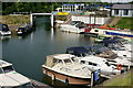 TQ1667 : Thames Ditton Marina by Peter Trimming
