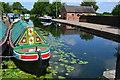 SK4931 : Colourful narrowboat on the Erewash Canal at Trentlock : Week 28