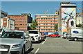 J3374 : Car park, North Street, Belfast - July 2018(1) by Albert Bridge