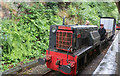 SH6706 : Abergynolwyn Station - works train by Chris Allen