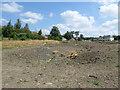 SE3436 : Land drain off Asket Avenue by Stephen Craven