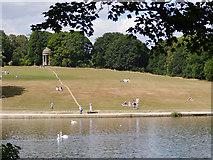 SE3337 : Hillside in Roundhay Park by Stephen Craven