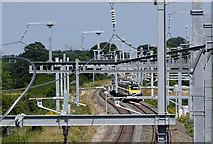 SU2487 : Lineside infrastructure, Great Western main line, Shrivenham by Brian Robert Marshall